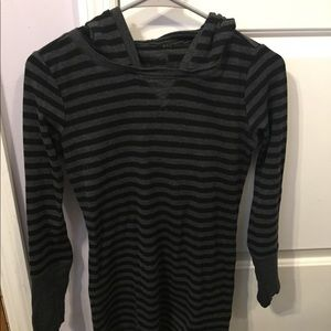 Tops - Marc ny women's striped top with hood